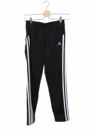 Dětské tepláky Adidas, Velikost 11-12y/ 152-158 cm, Barva Černá, Polyester, Cena  414,00Kč
