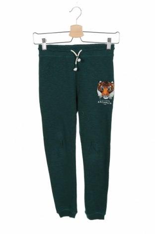 Dziecięce spodnie sportowe H&M, Rozmiar 9-10y/ 140-146 cm, Kolor Zielony, 70% bawełna, 30% poliester, Cena 52,80zł