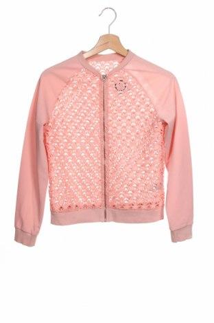 Bluză de trening, pentru copii, Mărime 10-11y/ 146-152 cm, Culoare Roz, Poliester, Preț 79,58 Lei