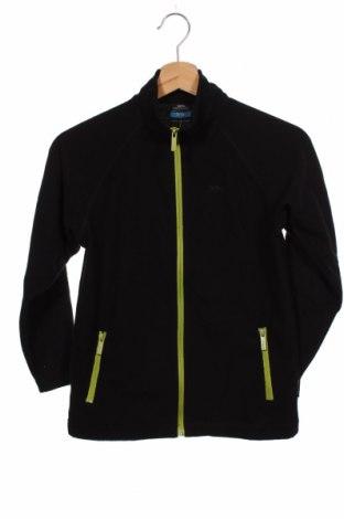 Детско спортно горнище Trespass, Размер 8-9y/ 134-140 см, Цвят Черен, Полиестер, Цена 59,25лв.