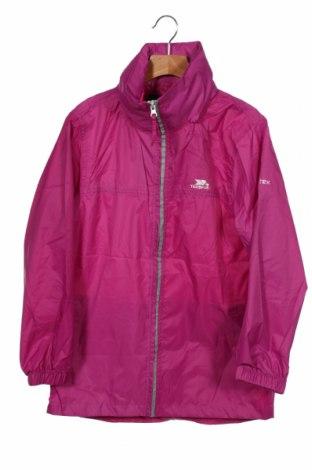 Dziecięca kurtka sportowa Trespass, Rozmiar 6-7y/ 122-128 cm, Kolor Różowy, Poliester, Cena 157,50zł