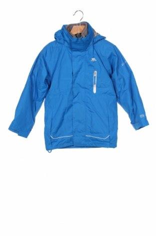 Детско спортно яке Trespass, Размер 4-5y/ 110-116 см, Цвят Син, Полиестер, Цена 54,06лв.