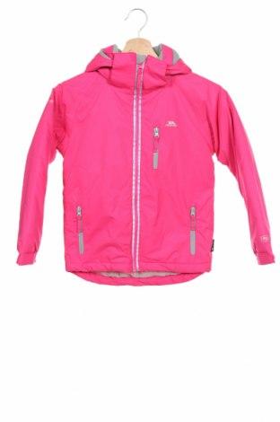 Geacă de sport pentru copii Trespass, Mărime 4-5y/ 110-116 cm, Culoare Roz, Poliester, Preț 268,91 Lei