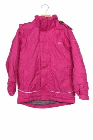 Geacă de sport pentru copii Trespass, Mărime 6-7y/ 122-128 cm, Culoare Roz, Poliester, Preț 231,91 Lei