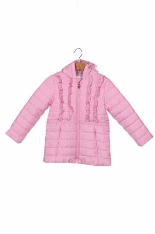 Geacă pentru copii Guess, Mărime 18-24m/ 86-98 cm, Culoare Roz, Preț 155,43 Lei