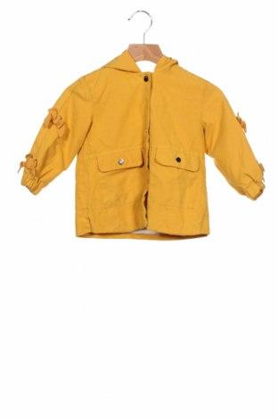 Geacă pentru copii Zara, Mărime 12-18m/ 80-86 cm, Culoare Galben, Preț 78,95 Lei