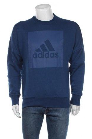 Мъжка блуза Adidas, Размер L, Цвят Син, Цена 39,90лв.