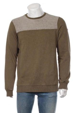 Bluză de bărbați Dreimaster, Mărime L, Culoare Verde, 80% bumbac, 20% poliester, Preț 170,23 Lei