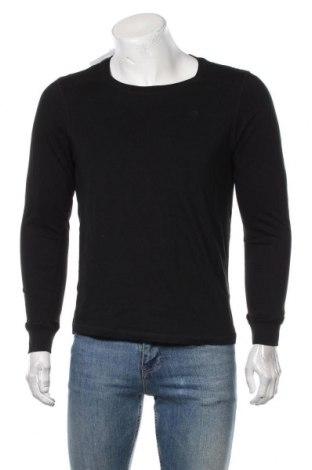 Bluză de bărbați Dreimaster, Mărime S, Culoare Negru, Bumbac, Preț 226,97 Lei