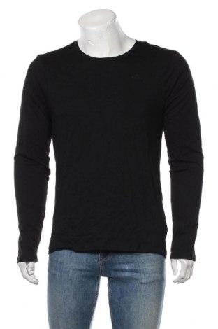 Bluză de bărbați Dreimaster, Mărime M, Culoare Negru, Bumbac, Preț 171,05 Lei