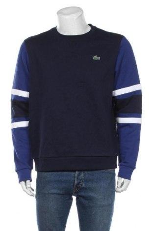Bluză de bărbați Lacoste, Mărime L, Culoare Albastru, 83% bumbac, 17% poliester, Preț 490,13 Lei