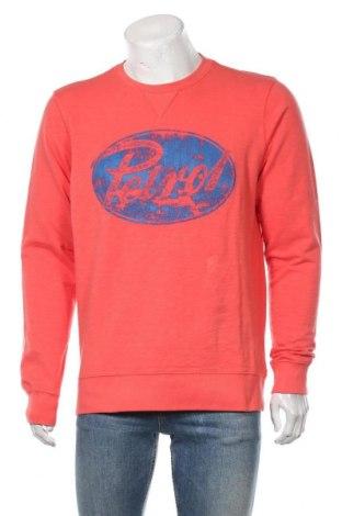 Bluză de bărbați Petrol Industries, Mărime L, Culoare Roz, Bumbac, Preț 145,56 Lei