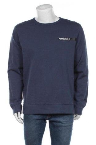 Bluză de bărbați Petrol Industries, Mărime XXL, Culoare Albastru, Bumbac, Preț 171,05 Lei
