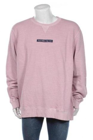 Bluză de bărbați Petrol Industries, Mărime 3XL, Culoare Roz, Bumbac, Preț 194,08 Lei