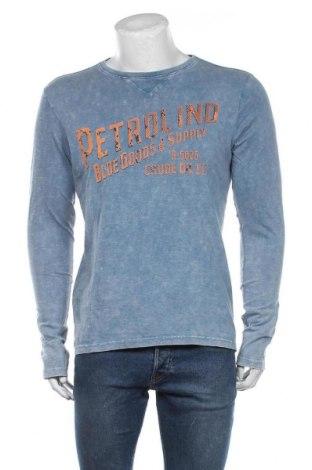 Bluză de bărbați Petrol Industries, Mărime L, Culoare Albastru, Preț 145,56 Lei