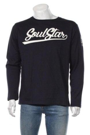 Bluză de bărbați Soulstar, Mărime XL, Culoare Albastru, Bumbac, Preț 145,56 Lei