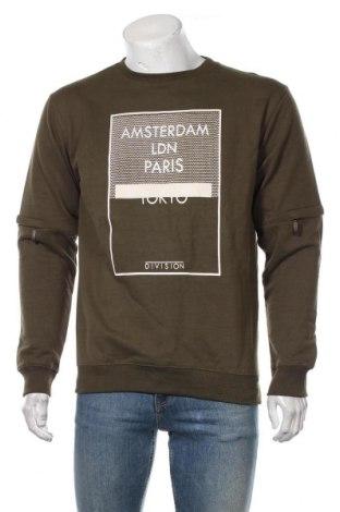Bluză de bărbați Soulstar, Mărime M, Culoare Verde, 45% poliester, 55% bumbac, Preț 108,56 Lei