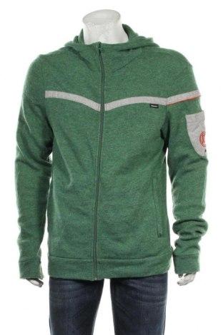 Jachetă tricotată de bărbați, Mărime L, Culoare Verde, Poliester, Preț 106,11 Lei
