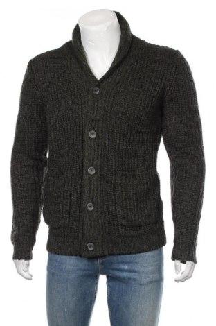 Jachetă tricotată de bărbați Cedar Wood State, Mărime M, Culoare Verde, Acrilic, Preț 92,84 Lei