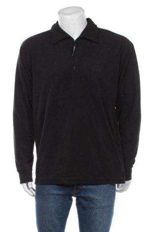 Męska bluzka z polaru Trespass, Rozmiar L, Kolor Czarny, Poliester, Cena 132,00zł
