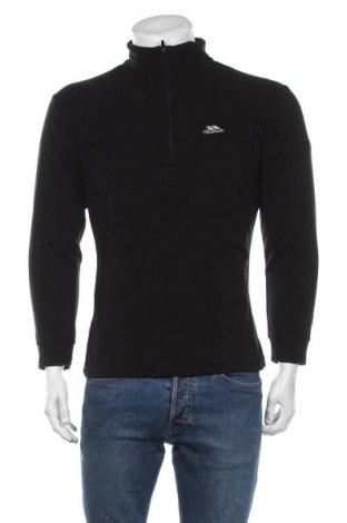 Męska bluzka z polaru Trespass, Rozmiar M, Kolor Czarny, Poliester, Cena 132,00zł
