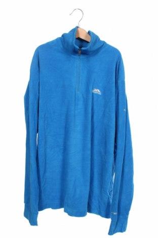 Męska bluzka z polaru Trespass, Rozmiar XS, Kolor Niebieski, Poliester, Cena 112,00zł