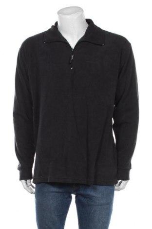 Męska bluzka z polaru Trespass, Rozmiar XL, Kolor Czarny, Poliester, Cena 132,00zł