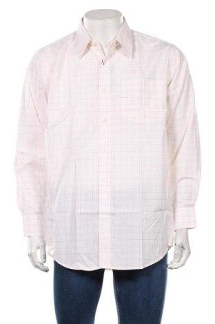Ανδρικό πουκάμισο, Μέγεθος L, Χρώμα Λευκό, 78% πολυεστέρας, 22% βαμβάκι, Τιμή 18,84€