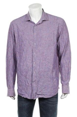 Ανδρικό πουκάμισο 2blind2c, Μέγεθος XL, Χρώμα Μπλέ, Τιμή 20,13€