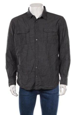 Ανδρικό πουκάμισο Angelo Litrico, Μέγεθος XL, Χρώμα Μαύρο, Βαμβάκι, Τιμή 11,04€