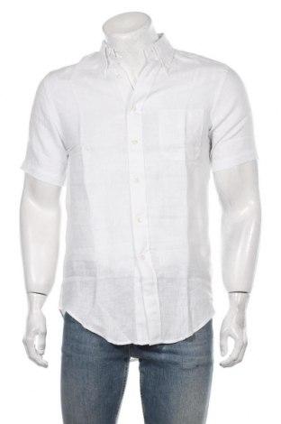 Męska koszula Brooks Brothers, Rozmiar S, Kolor Biały, Len, Cena 218,00zł