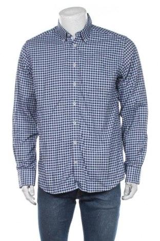 Ανδρικό πουκάμισο Bruun & Stengade, Μέγεθος L, Χρώμα Μπλέ, Βαμβάκι, Τιμή 11,04€