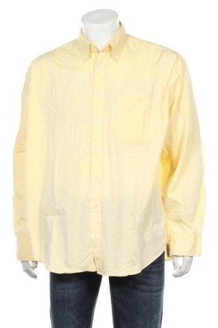 Мъжка риза Burton, Размер XL, Цвят Жълт, 80% памук, 20% полиестер, Цена 33,00лв.
