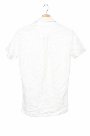 Cămașă de bărbați Celio, Mărime S, Culoare Alb, 100% bumbac, Preț 54,28 Lei