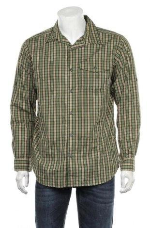 Ανδρικό πουκάμισο Columbia, Μέγεθος M, Χρώμα Πράσινο, 66% βαμβάκι, 30% πολυαμίδη, 4% ελαστάνη, Τιμή 16,89€