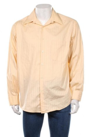 Ανδρικό πουκάμισο Crazy Horse, Μέγεθος L, Χρώμα Εκρού, 55% βαμβάκι, 45% πολυεστέρας, Τιμή 12,34€