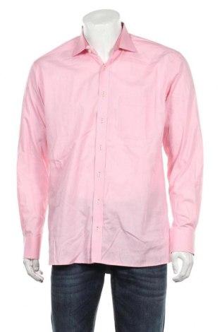 Ανδρικό πουκάμισο Eterna, Μέγεθος L, Χρώμα Ρόζ , Βαμβάκι, Τιμή 11,69€