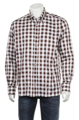 Ανδρικό πουκάμισο Eterna, Μέγεθος L, Χρώμα Πολύχρωμο, Βαμβάκι, Τιμή 12,34€