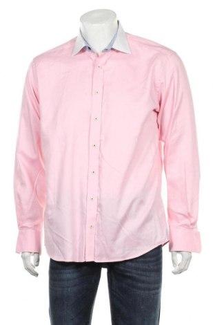 Ανδρικό πουκάμισο Eterna, Μέγεθος L, Χρώμα Ρόζ , Βαμβάκι, Τιμή 12,34€