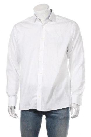 Ανδρικό πουκάμισο Eterna, Μέγεθος L, Χρώμα Λευκό, Βαμβάκι, Τιμή 14,29€