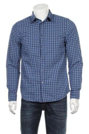 Ανδρικό πουκάμισο Joe Fresh, Μέγεθος M, Χρώμα Μπλέ, Βαμβάκι, Τιμή 12,34€
