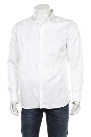 Ανδρικό πουκάμισο Matinique, Μέγεθος L, Χρώμα Λευκό, Βαμβάκι, Τιμή 19,49€