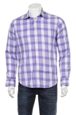 Мъжка риза Matinique, Размер M, Цвят Лилав, Памук, Цена 27,00лв.