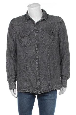 Ανδρικό πουκάμισο Much More, Μέγεθος XL, Χρώμα Γκρί, Βαμβάκι, Τιμή 11,04€