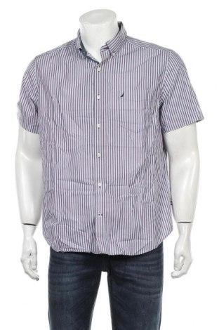 Мъжка риза Nautica, Размер L, Цвят Многоцветен, Памук, Цена 24,00лв.