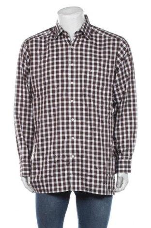 Мъжка риза Olymp, Размер XL, Цвят Кафяв, Памук, Цена 18,90лв.