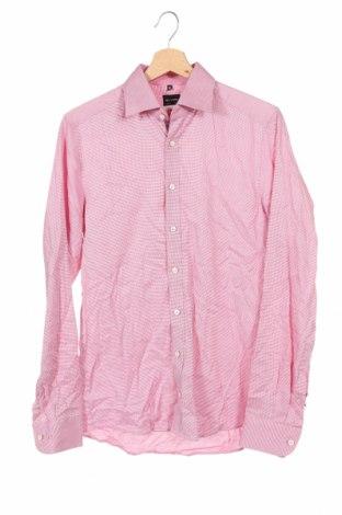 Мъжка риза Olymp, Размер S, Цвят Червен, 97% памук, 3% еластан, Цена 19,95лв.