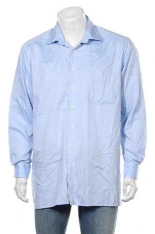Мъжка риза Olymp, Размер XL, Цвят Син, Памук, Цена 19,95лв.