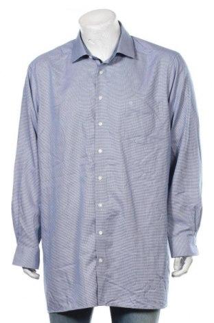 Мъжка риза Olymp, Размер L, Цвят Син, Памук, Цена 18,95лв.