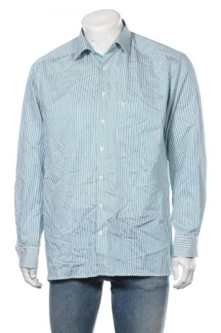 Мъжка риза Olymp, Размер L, Цвят Зелен, Памук, Цена 22,05лв.